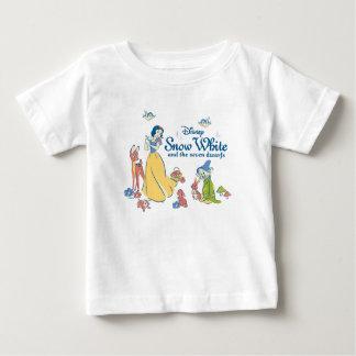 Camiseta De Bebé Blanco como la nieve y narcotizado con los amigos