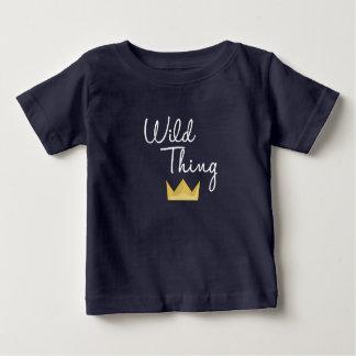 Camiseta De Bebé Blanco de la corona de los matchies de RWT
