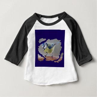Camiseta De Bebé BLAUMEISE- BLUETIT foto: Jean Louis Glineur