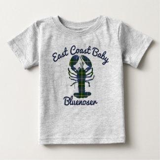 Camiseta De Bebé Bluenoser de Nueva Escocia de la langosta del bebé