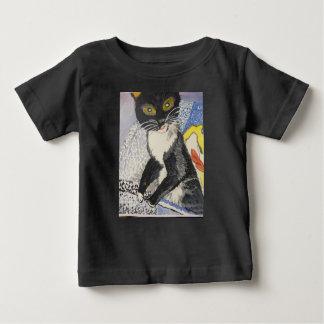 Camiseta De Bebé bobble el smokey principal del gatito