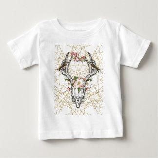 Camiseta De Bebé Boho Skull