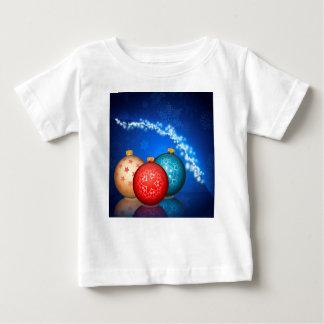 Camiseta De Bebé Bolas ornamentales 2 de Navidad