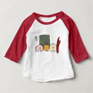 Camiseta De Bebé Bollo chino de los bollos de la bola de masa