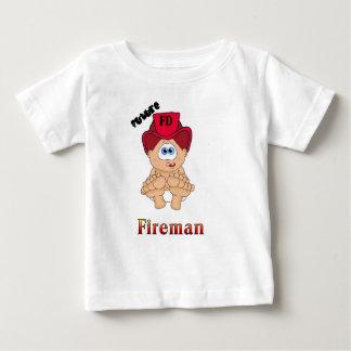 Camiseta De Bebé Bombero futuro