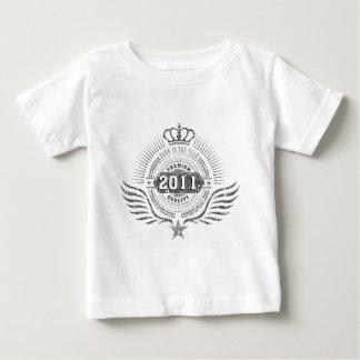 Camiseta De Bebé born en 2010, born en 2011