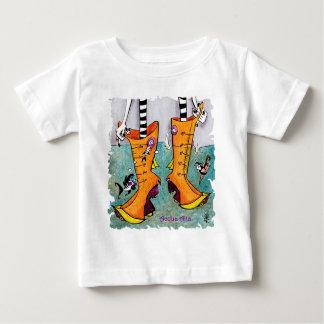 Camiseta De Bebé Botas de Venecia Acqua Alta - niños cómicos