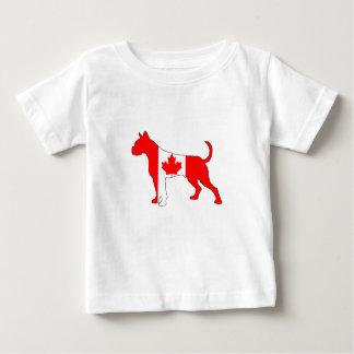 Camiseta De Bebé Boxeador de Canadá