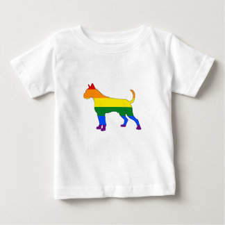 Camiseta De Bebé Boxeador del arco iris