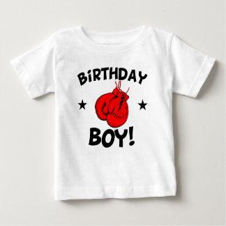 Camiseta De Bebé Boxeo del muchacho del cumpleaños