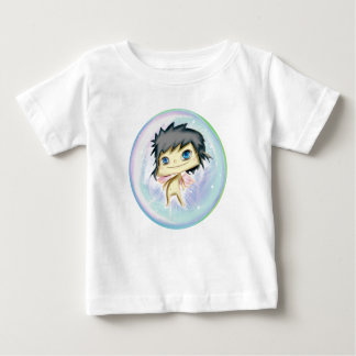Camiseta De Bebé Bubble Angel Blue Number 2