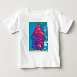 Camiseta De Bebé Buda quebrado