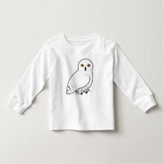 Camiseta De Bebé Búho de Birdorable Nevado