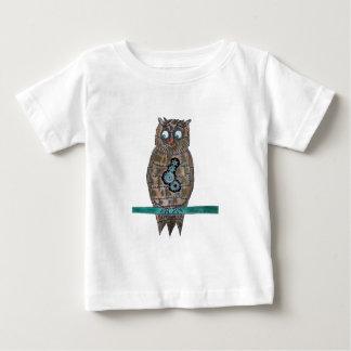Camiseta De Bebé Búho del punk del vapor