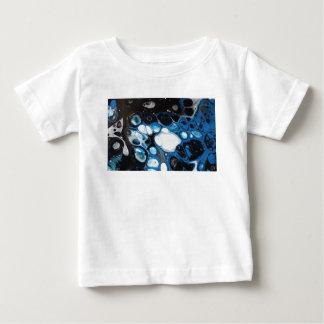 Camiseta De Bebé Burbujas negras y azules