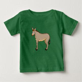 Camiseta De Bebé Burro del ejemplo del vector
