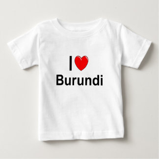 Camiseta De Bebé Burundi