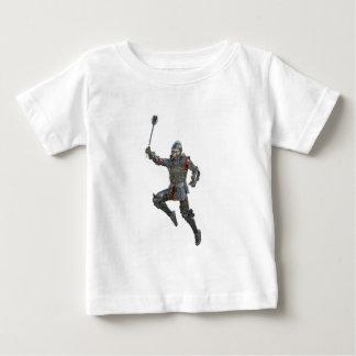 Camiseta De Bebé Caballero con macis que salta a la derecha