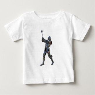 Camiseta De Bebé Caballero que camina a la derecha con macis