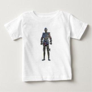Camiseta De Bebé Caballero que se coloca y que mira adelante
