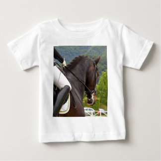 Camiseta De Bebé Caballo al Levantamiento