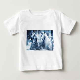 Camiseta De Bebé caballos