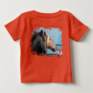 Camiseta De Bebé Caballos/Cabalos/Horses