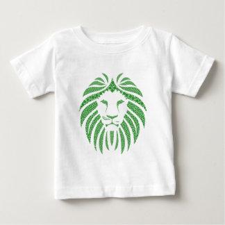 Camiseta De Bebé Cabeza verde del león
