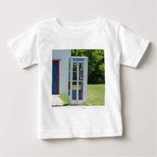 Camiseta De Bebé Cabina de teléfono