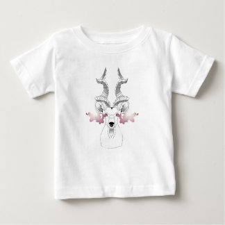 Camiseta De Bebé Cabra de la galaxia