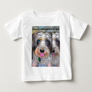 Camiseta De Bebé cacahuete el perro del rescate