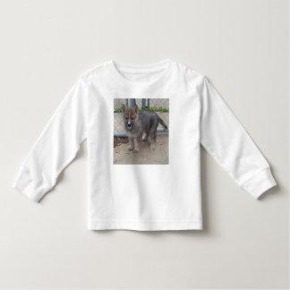 Camiseta De Bebé Cachorros de lobo
