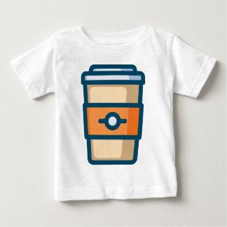 Camiseta De Bebé Café a ir