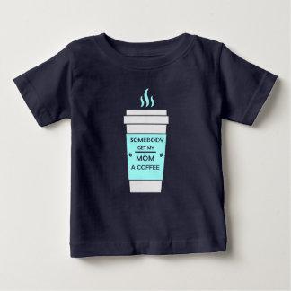 Camiseta De Bebé Café para la momia