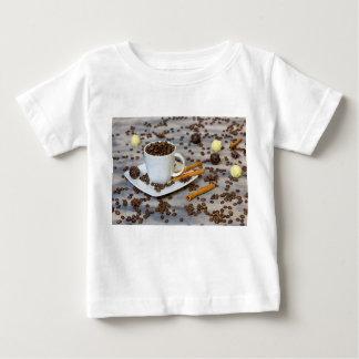 Camiseta De Bebé Café y especias