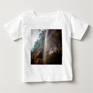 Camiseta De Bebé Caídas susurrantes, colinas Ohio de Hocking