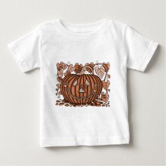 Camiseta De Bebé Calabaza parecida a una araña 20