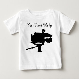 Camiseta De Bebé Cámara de película del cine de la película del