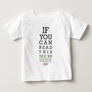 Camiseta De Bebé Cambie mis gracias del pañal