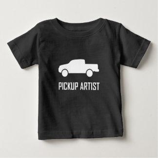 Camiseta De Bebé Camión del artista de la recogida