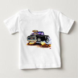 Camiseta De Bebé Camión negro 1970-72 de Chevy C10