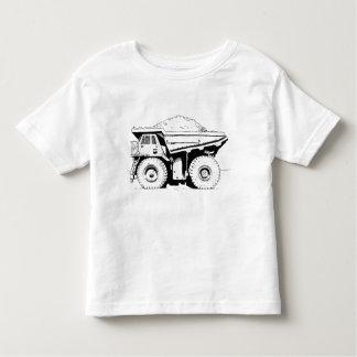 Camiseta De Bebé Camión volquete