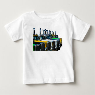 Camiseta De Bebé Camiones diesel