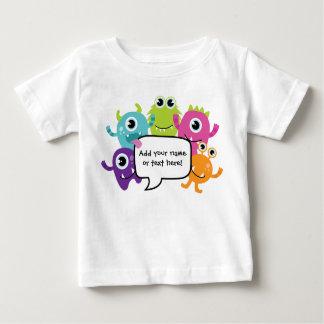 Camiseta De Bebé Camisa/mameluco personalizados - pequeño diseño
