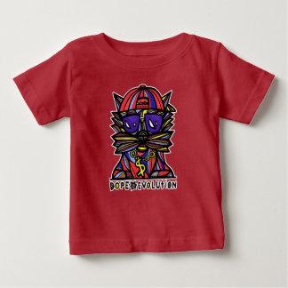 """Camiseta De Bebé """"Camiseta del bebé de BuddaKats de la evolución de"""