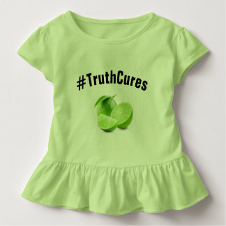 Camiseta De Bebé Camiseta-Lyme del volante del niño