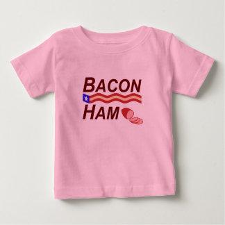 Camiseta De Bebé Campaña del jamón del tocino