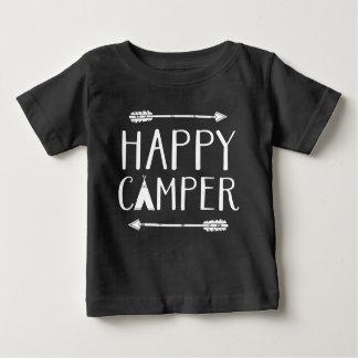 Camiseta De Bebé Campista contento