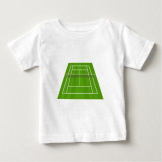 Camiseta De Bebé Campo de tenis