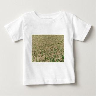 Camiseta De Bebé Campo del maíz del maíz verde en primero tiempo